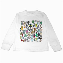 Story Of Our Life Kids Long Sleeve T-Shirts