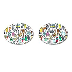 Story Of Our Life Cufflinks (Oval)
