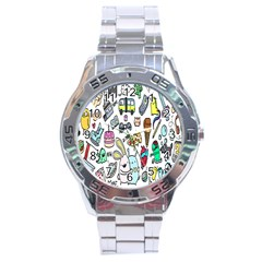Story Of Our Life Stainless Steel Analogue Watch