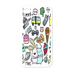 Story Of Our Life Apple iPhone 4 Case (White)