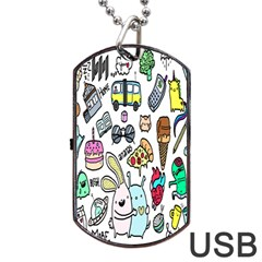 Story Of Our Life Dog Tag USB Flash (One Side)