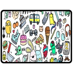Story Of Our Life Double Sided Fleece Blanket (Large)