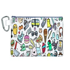 Story Of Our Life Canvas Cosmetic Bag (XL)