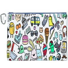 Story Of Our Life Canvas Cosmetic Bag (XXXL)