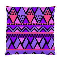Seamless Purple Pink Pattern Standard Cushion Case (one Side)
