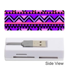 Seamless Purple Pink Pattern Memory Card Reader (Stick)