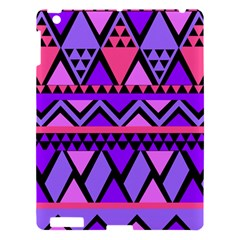 Seamless Purple Pink Pattern Apple iPad 3/4 Hardshell Case