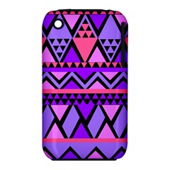 Seamless Purple Pink Pattern iPhone 3S/3GS