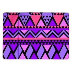 Seamless Purple Pink Pattern Samsung Galaxy Tab 10.1  P7500 Flip Case