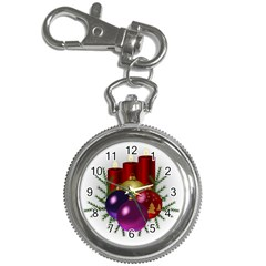 Candles Christmas Tree Decorations Key Chain Watches