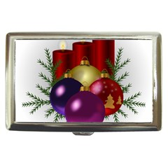 Candles Christmas Tree Decorations Cigarette Money Cases