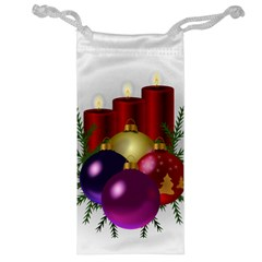 Candles Christmas Tree Decorations Jewelry Bag