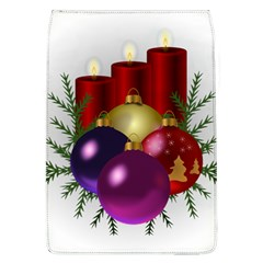 Candles Christmas Tree Decorations Flap Covers (L)