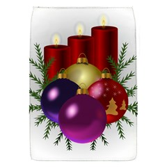 Candles Christmas Tree Decorations Flap Covers (S)