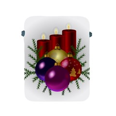 Candles Christmas Tree Decorations Apple iPad 2/3/4 Protective Soft Cases