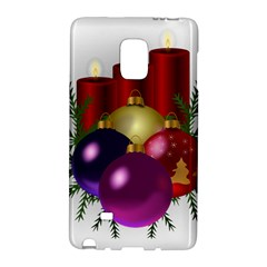 Candles Christmas Tree Decorations Galaxy Note Edge