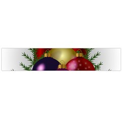 Candles Christmas Tree Decorations Flano Scarf (Large)