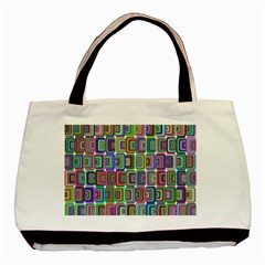 Psychedelic 70 S 1970 S Abstract Basic Tote Bag