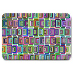 Psychedelic 70 S 1970 S Abstract Large Doormat