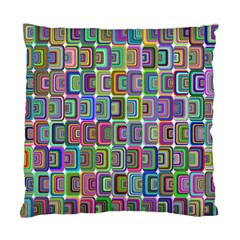 Psychedelic 70 S 1970 S Abstract Standard Cushion Case (Two Sides)