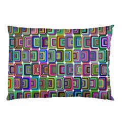 Psychedelic 70 S 1970 S Abstract Pillow Case