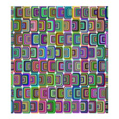 Psychedelic 70 S 1970 S Abstract Shower Curtain 66  x 72  (Large)