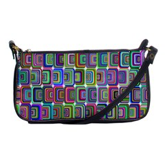 Psychedelic 70 S 1970 S Abstract Shoulder Clutch Bags