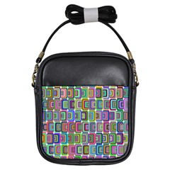 Psychedelic 70 S 1970 S Abstract Girls Sling Bags