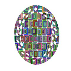 Psychedelic 70 S 1970 S Abstract Ornament (Oval Filigree)