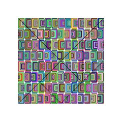 Psychedelic 70 S 1970 S Abstract Acrylic Tangram Puzzle (4  x 4 )