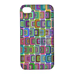 Psychedelic 70 S 1970 S Abstract Apple iPhone 4/4S Hardshell Case with Stand