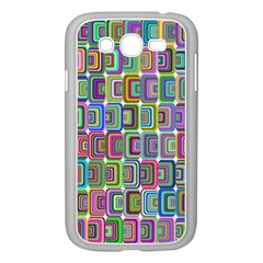 Psychedelic 70 S 1970 S Abstract Samsung Galaxy Grand DUOS I9082 Case (White)