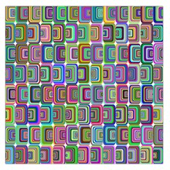 Psychedelic 70 S 1970 S Abstract Large Satin Scarf (Square)