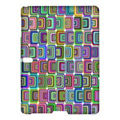 Psychedelic 70 S 1970 S Abstract Samsung Galaxy Tab S (10.5 ) Hardshell Case