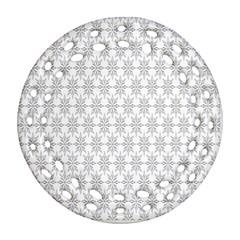 Ornamental Decorative Floral Ornament (Round Filigree)
