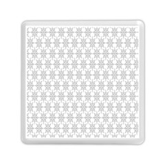 Ornamental Decorative Floral Memory Card Reader (square)