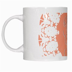 Mandala I Love You White Mugs