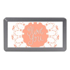 Mandala I Love You Memory Card Reader (Mini)
