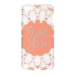 Mandala I Love You Apple iPod Touch 5 Hardshell Case