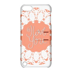 Mandala I Love You Apple iPod Touch 5 Hardshell Case with Stand