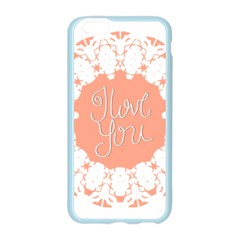 Mandala I Love You Apple Seamless iPhone 6/6S Case (Color)
