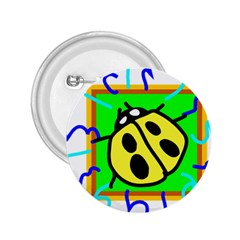 Insect Ladybug 2.25  Buttons