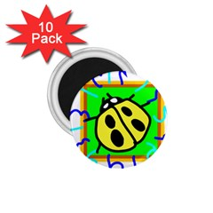 Insect Ladybug 1.75  Magnets (10 pack)
