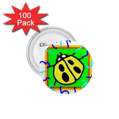 Insect Ladybug 1.75  Buttons (100 pack)