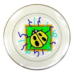 Insect Ladybug Porcelain Plates