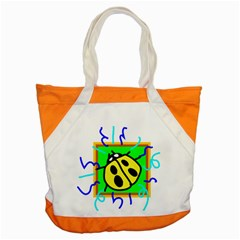 Insect Ladybug Accent Tote Bag