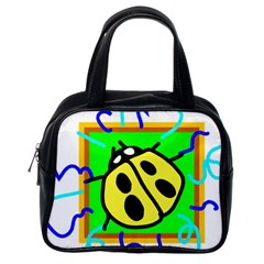 Insect Ladybug Classic Handbags (One Side)