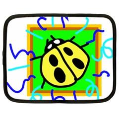 Insect Ladybug Netbook Case (XXL)