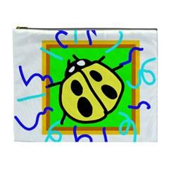Insect Ladybug Cosmetic Bag (XL)