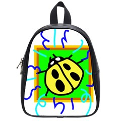 Insect Ladybug School Bags (Small)